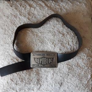 Aldo industrial vintage belt